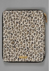 Rebecca Minkoff iPad Case in Nude Cheetah