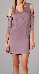 See by Chloe Cutout Shoulder Dress