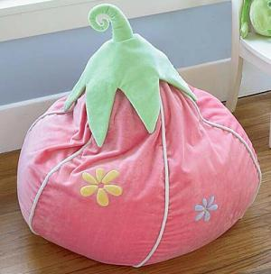 Strawberry Bean Bag Chair