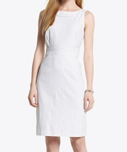 White House Black Market Bow Back Sheath Dress