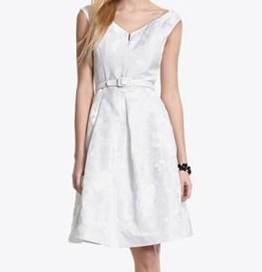 White House Black Market Jacquard Tank Dress