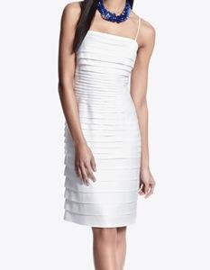 White House Black Market Laser Cut Tank Dress