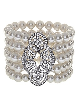 Pearl wedding bracelets stretch pearl bracelets for How do you rob the jewelry store in jailbreak