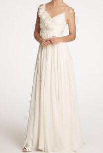 Dune Gown in Chiffon and Organza