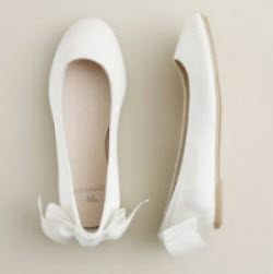 Girls petite belle ballet flats