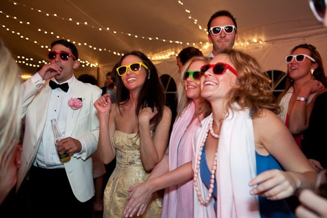 Sunglasses Wedding Favors Wedding RayBans Neon Customizable