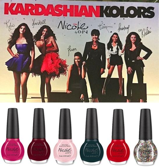 Kardashian Kolors | Kardashian Nail Polish | Kardashian Nicole by OPI