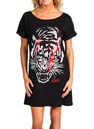Obey Tiger Tee Dress