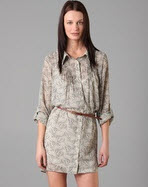 Patterson J. Kinkaid Floral Dress