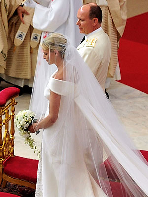 Prince Albert & Charlene Wittstock Wedding