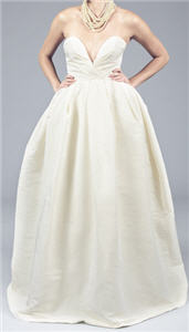 Love, Yu Princess Inspired Full-skirted Ivory Gowns