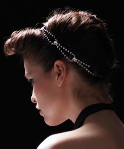 Teardrop Loop Crystal Headwrap