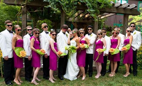 Sunglasses Wedding Favors   Wedding RayBans   Neon Customizable ...