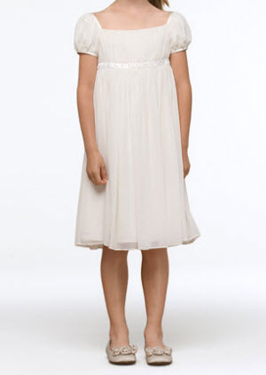 US Angels Renaissance Chiffon Dress