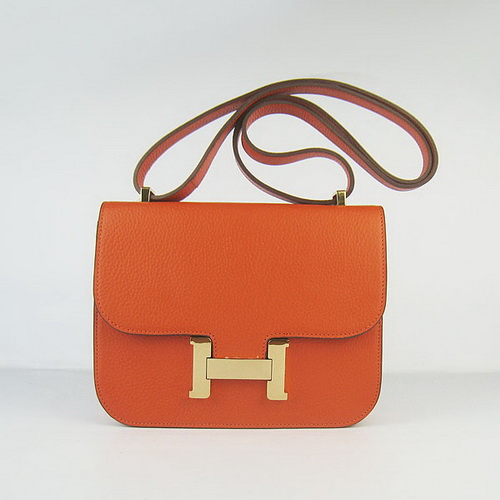 knock off hermes bags - hermes-H017-orange-gold-22.5x18.5x5cm-1.jpg