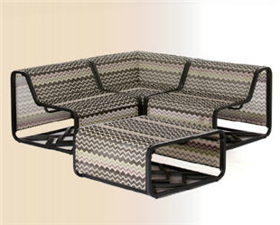 4-piece Patio Sectional