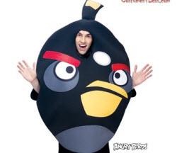 Black Angry Birds Halloween Costume
