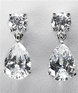 Get Kim Kardashian S Diamond Drop Earrings For Way Less Than She Paid Oh Wait Didn T