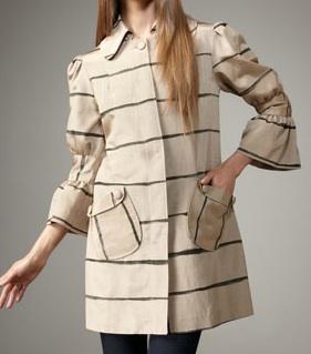 Delphinium Striped Coat