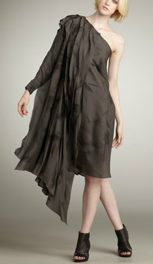 Dorian One-Shoulder Dress