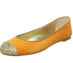 Giuseppe Zanotti glitter ballet flats