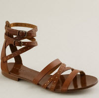 J.Crew Deseree gladiator sandals