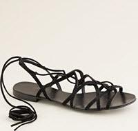 J.Crew Sparta lace-up sandals