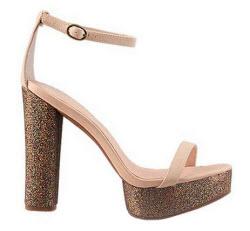 Jeffrey Campbell glitter platform shoes