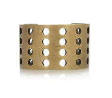 Kelly Wearstler Perforated brass cuff