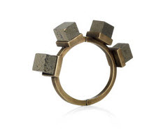Kelly Wearstler Pyrite & Brass bangle