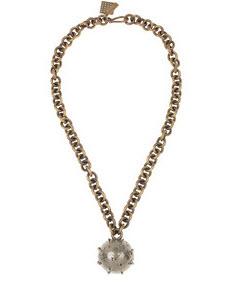 Kelly Wearstler Pyrite-embellished necklace