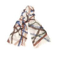 Kelly Wearstler blue scarf