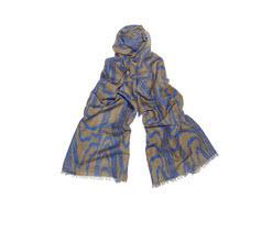 Kelly Weastrler Blue Marquety scarf