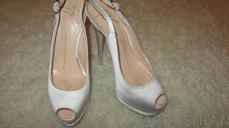 Unveils Her Giuseppe Zanotti Wedding Shoes: Sneak A Peek U0026 Shop Now