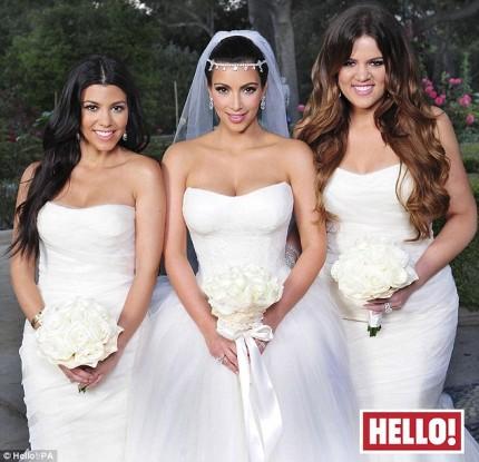Kim Kardashian Hello Magazine Photos