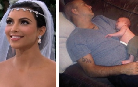 TMZ just caught the first photo of Kim Kardashian on her wedding day