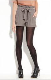 Paper Crown silk shorts