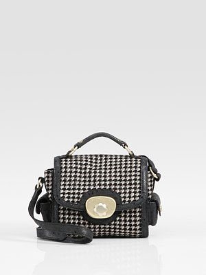 See by Chloe Houndstooth Mini Shoulder Bag