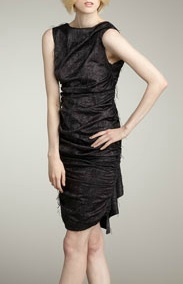 Serpentine Fringed Dress