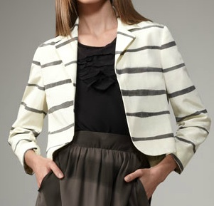 Tanzanite Striped Blazer