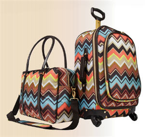 Twister Tote and Carry-On Luggage