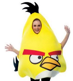 Yellow Angry Birds Halloween Costume