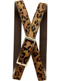 The Mad Men® Collection leopard print belt