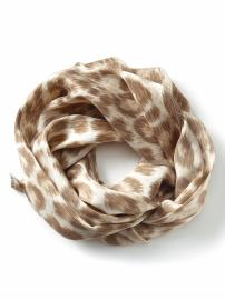 The Mad Men® Collection silk Betty neck scarf