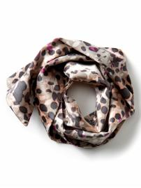 The Mad Men® Collection silk spot print neck scarf
