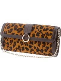 The Mad Men® Collection leopard print clutch
