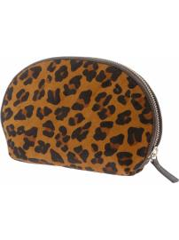 The Mad Men® Collection leopard print zip bag