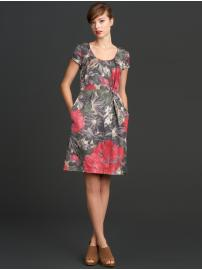 The Mad Men® Collection begonia print dress