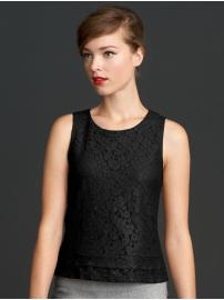 The Mad Men® Collection lace shell
