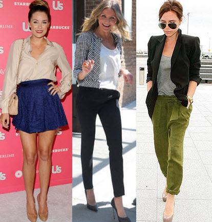 celebrity style pumps